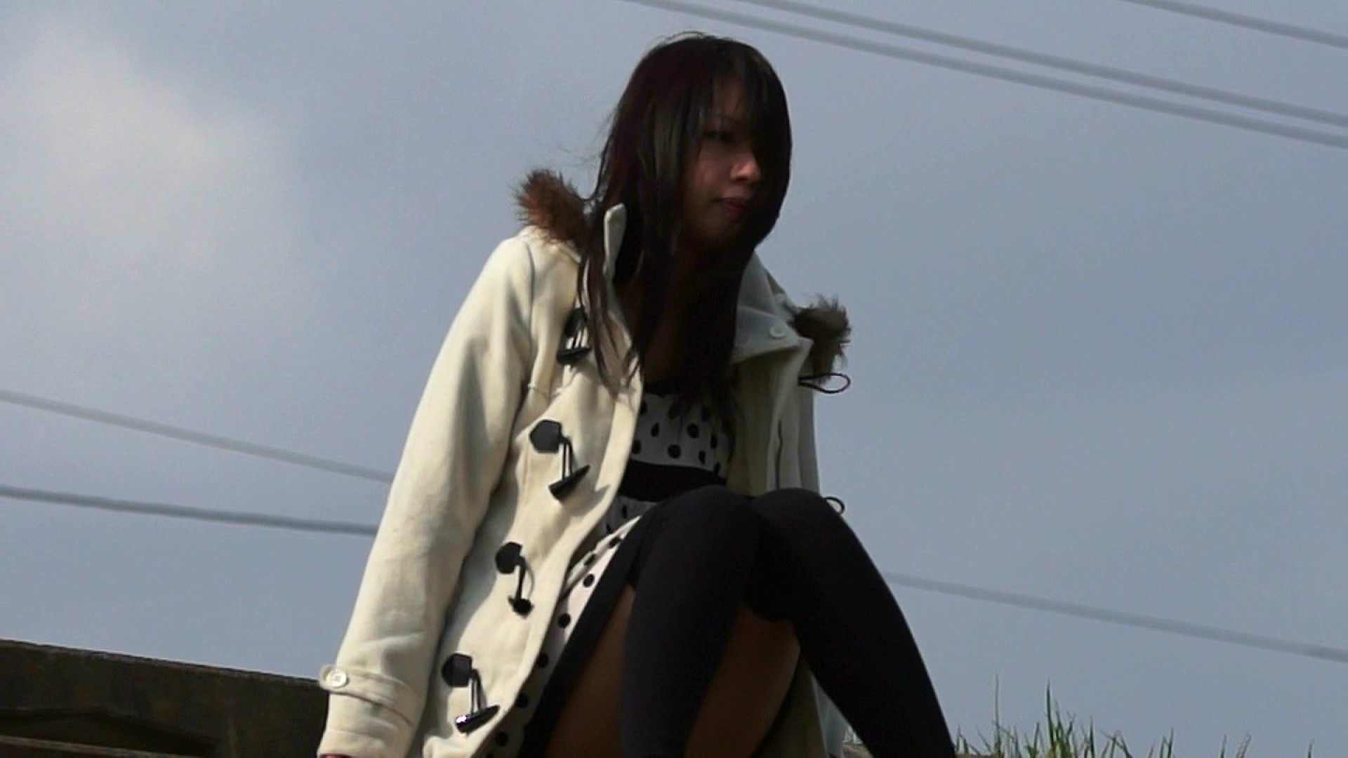 vol.2 自宅近く思い出の地で黄昏る志穂さん お姉さん  57PIX 19