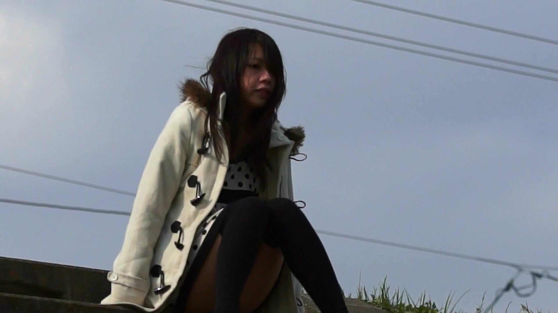 vol.2 自宅近く思い出の地で黄昏る志穂さん お姉さん  57PIX 28