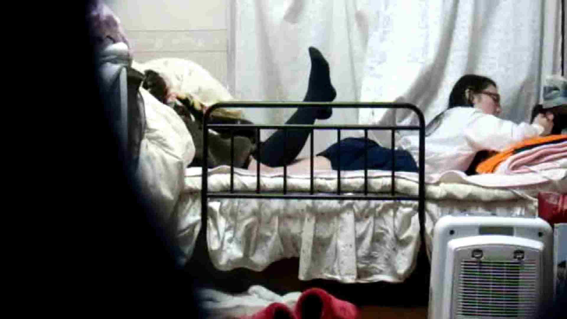 vol.4 まどかの帰宅後の部屋、ベッドで何かが始まります。 民家  58PIX 1