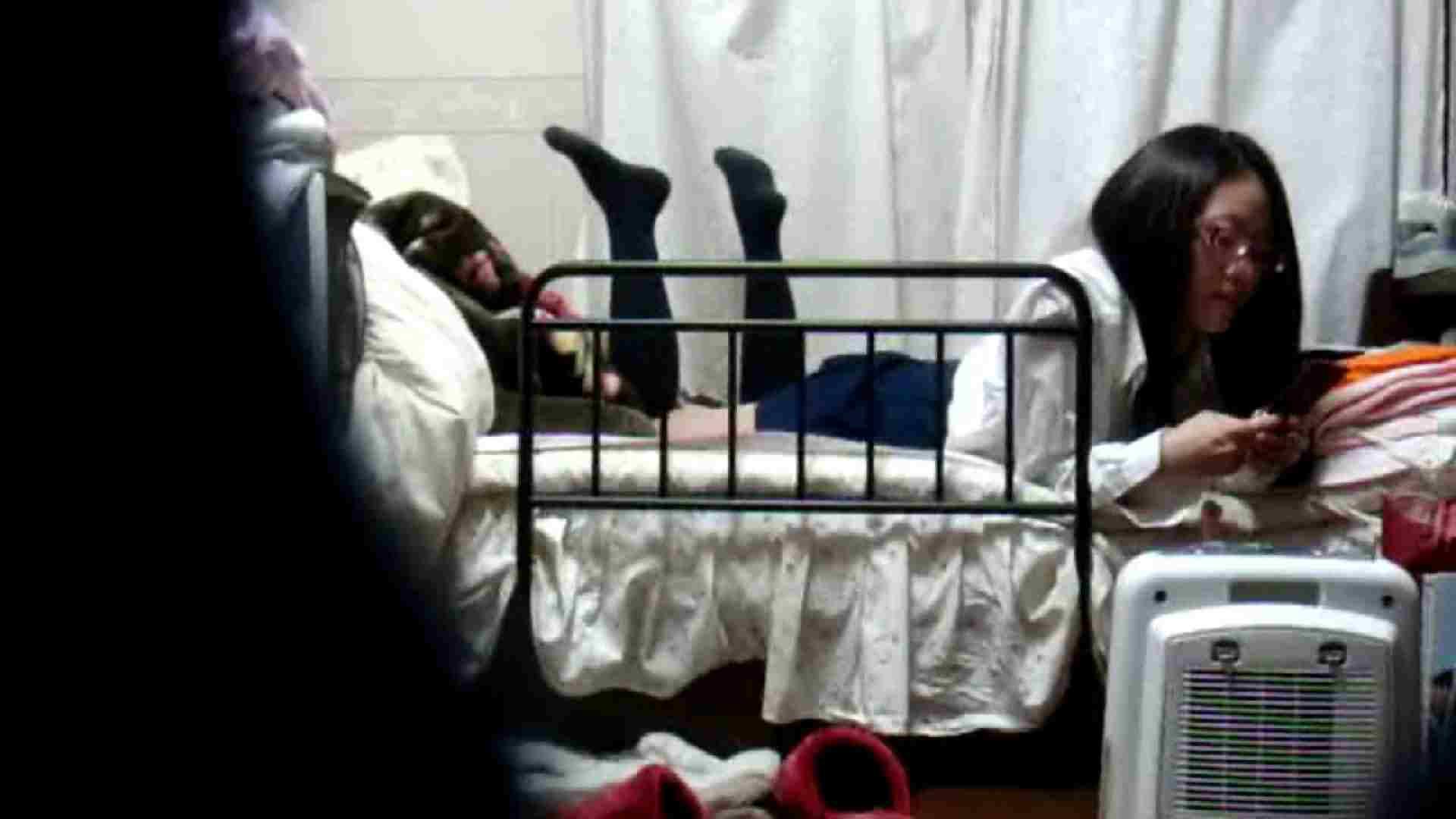 vol.4 まどかの帰宅後の部屋、ベッドで何かが始まります。 民家  58PIX 24