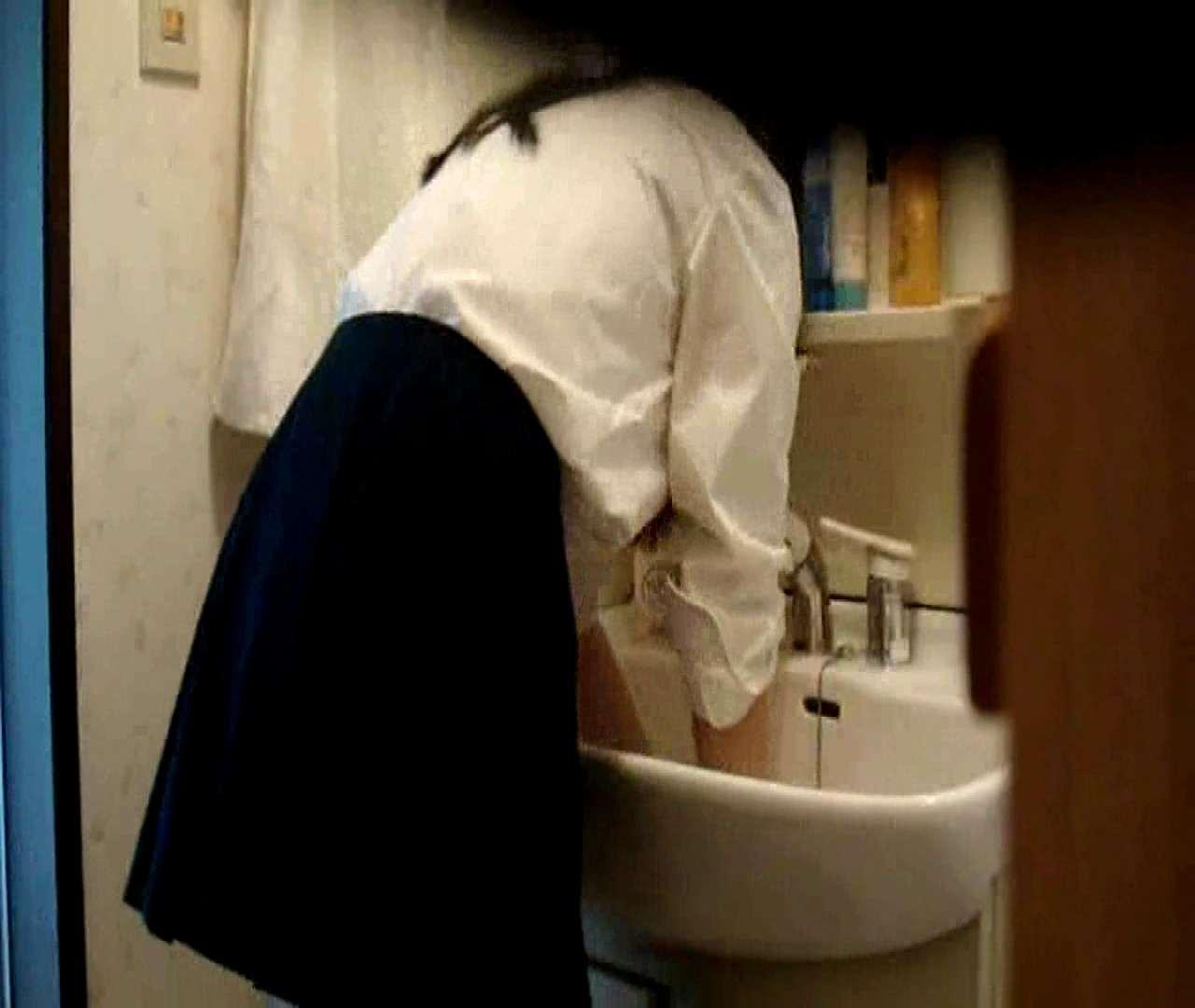 vol.5 まどかが帰宅後の洗顔後にブラを洗ってます。 いじくり  75PIX 6