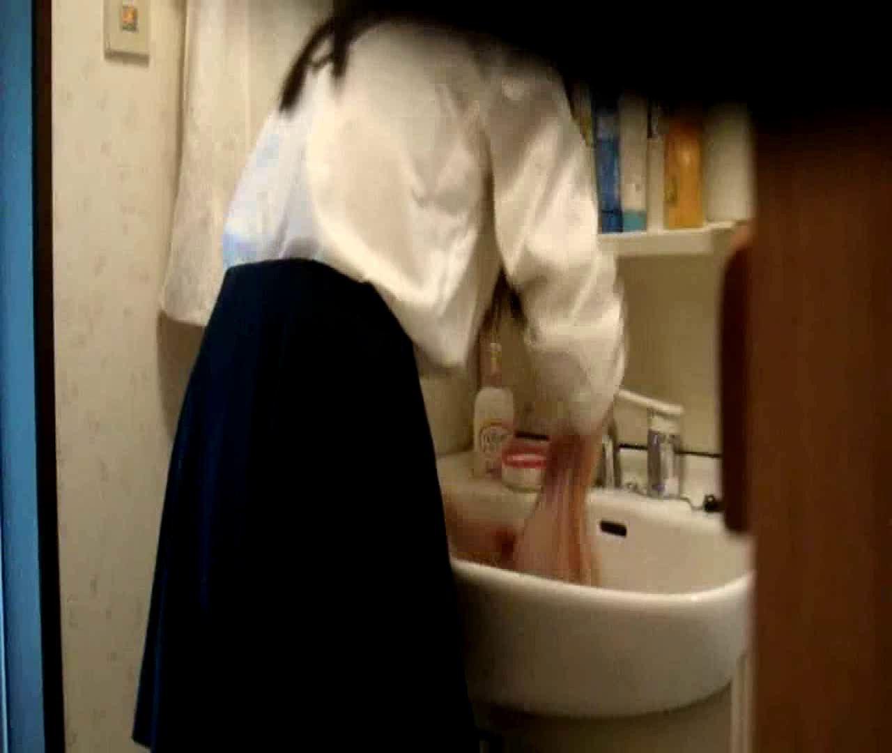 vol.5 まどかが帰宅後の洗顔後にブラを洗ってます。 いじくり  75PIX 12