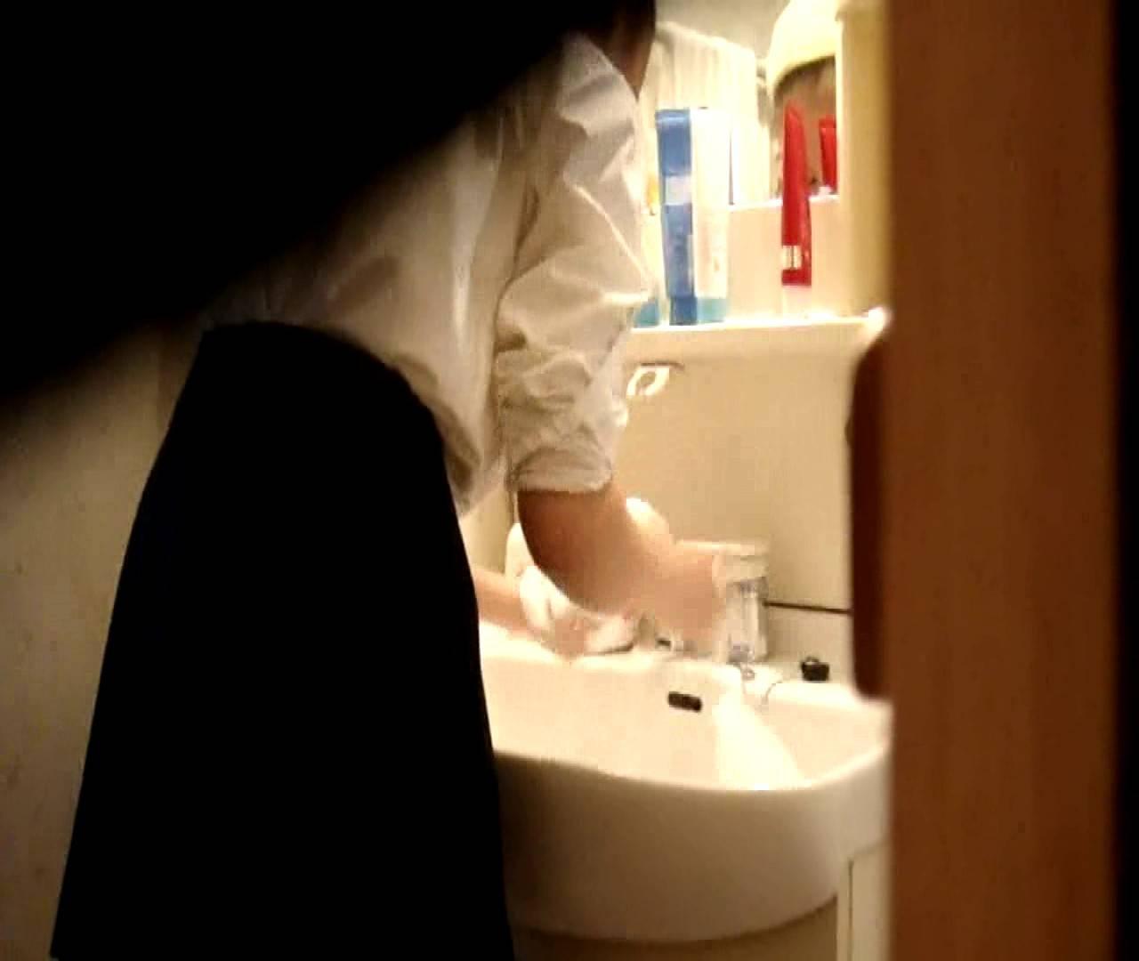 vol.5 まどかが帰宅後の洗顔後にブラを洗ってます。 いじくり  75PIX 34