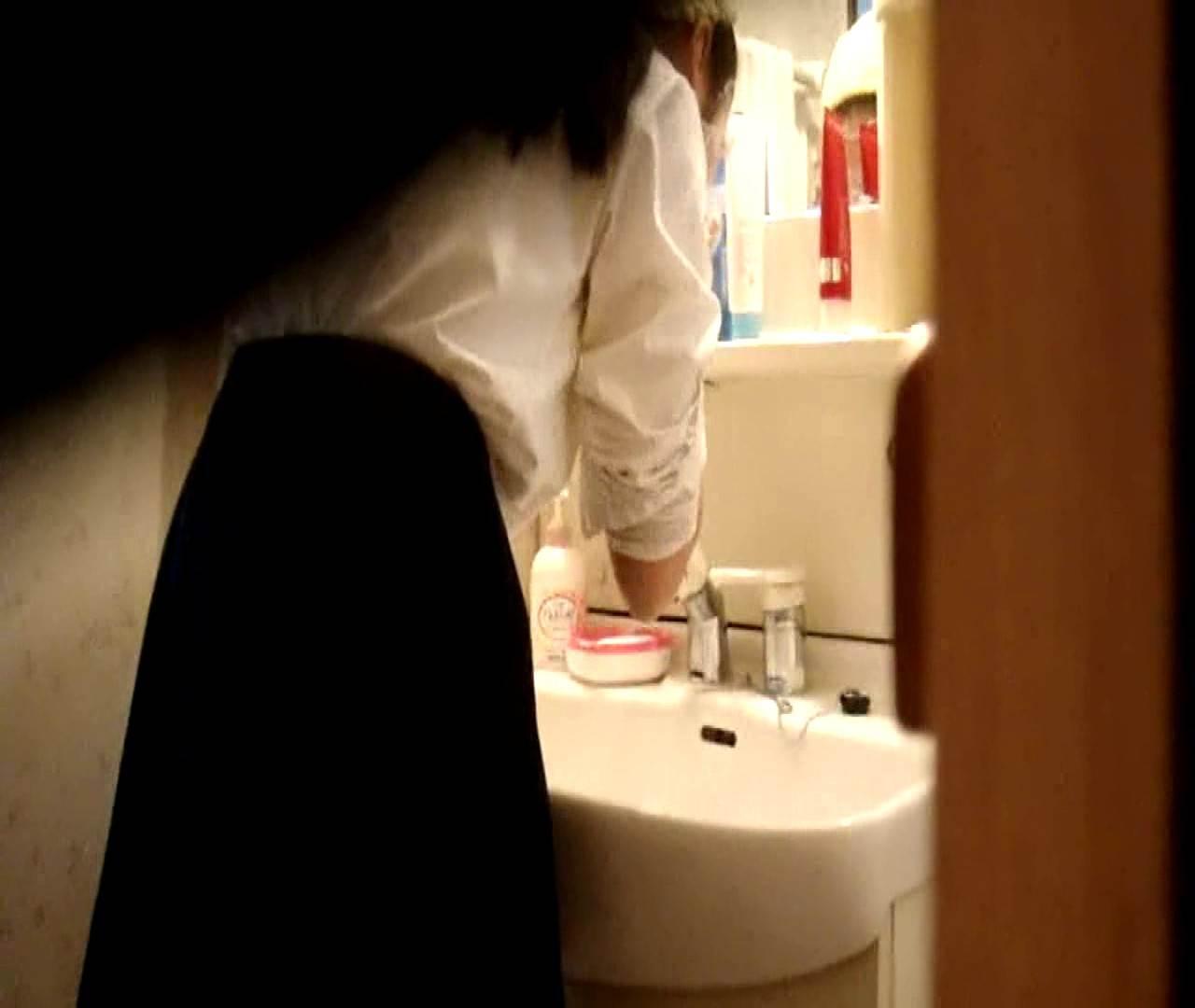 vol.5 まどかが帰宅後の洗顔後にブラを洗ってます。 いじくり  75PIX 36