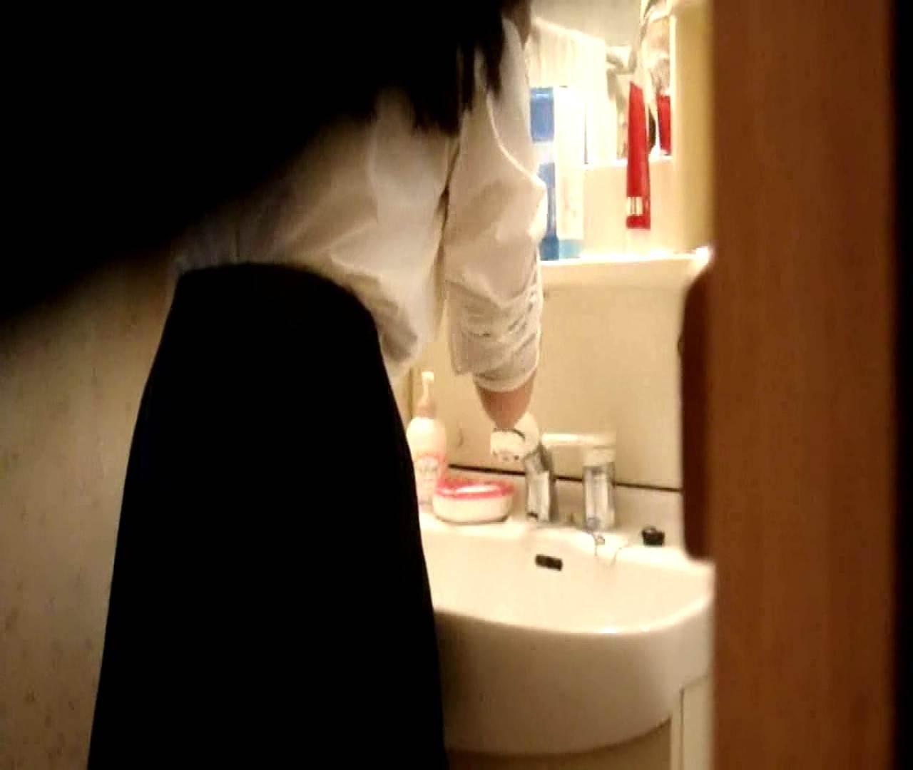vol.5 まどかが帰宅後の洗顔後にブラを洗ってます。 いじくり  75PIX 37