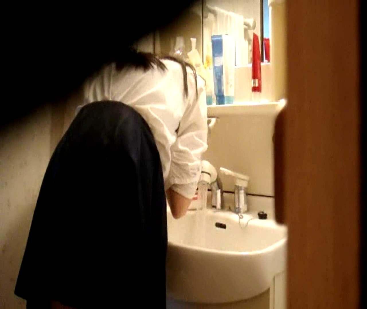 vol.5 まどかが帰宅後の洗顔後にブラを洗ってます。 いじくり  75PIX 39