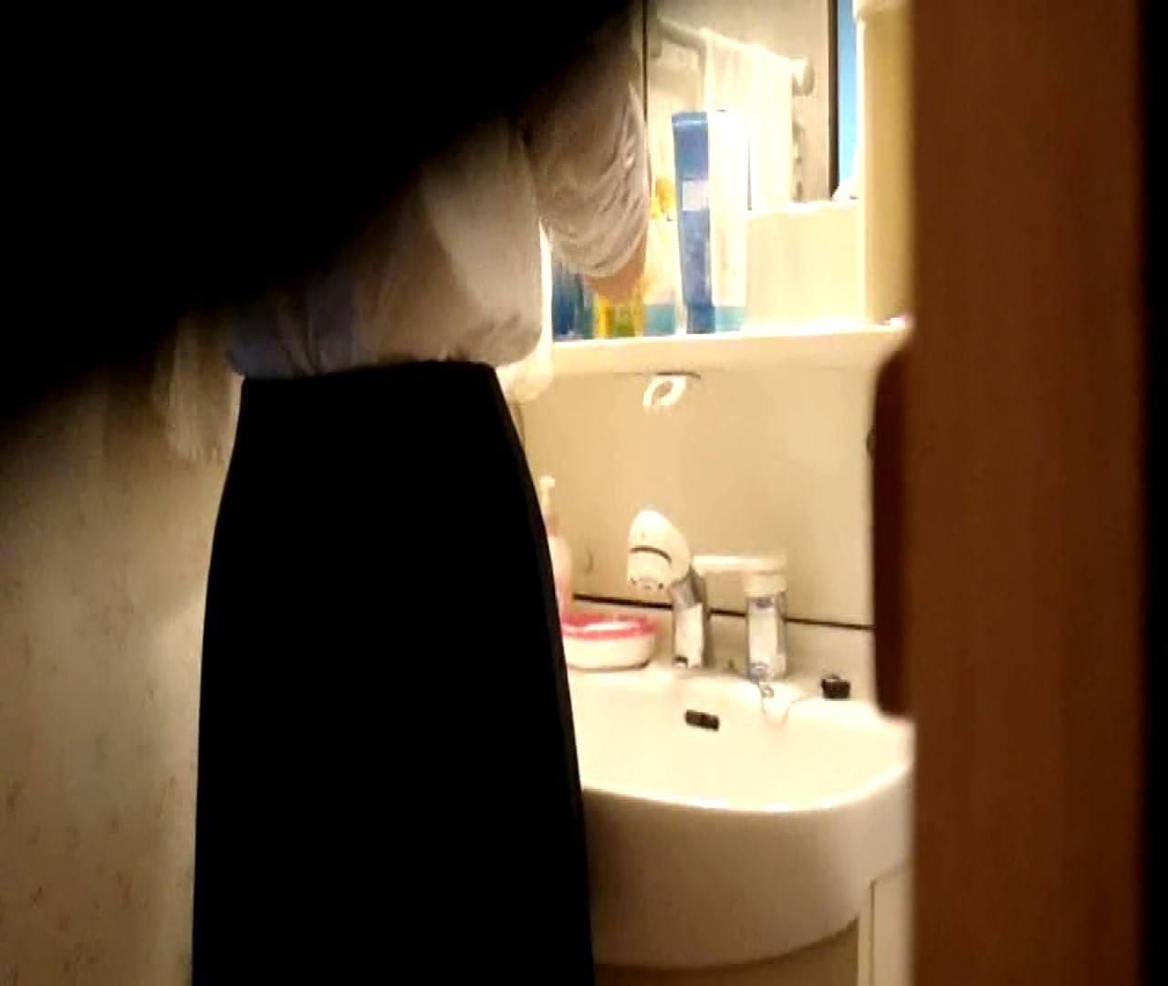 vol.5 まどかが帰宅後の洗顔後にブラを洗ってます。 いじくり  75PIX 45