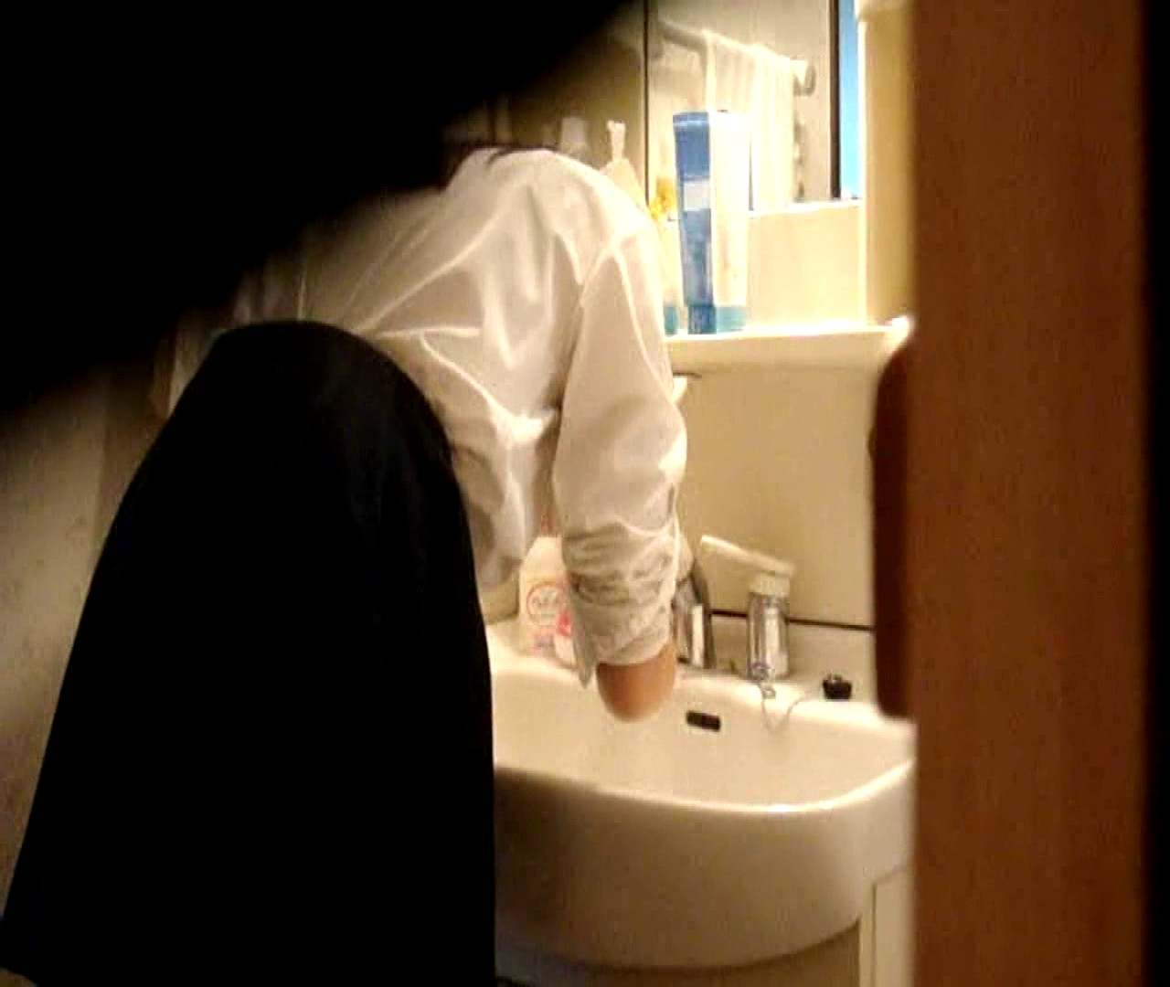 vol.5 まどかが帰宅後の洗顔後にブラを洗ってます。 いじくり  75PIX 47