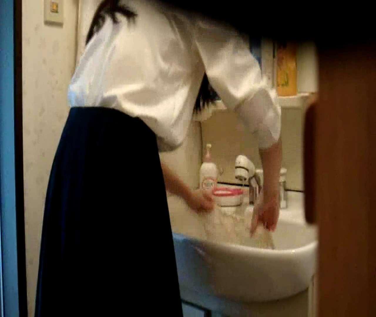 vol.5 まどかが帰宅後の洗顔後にブラを洗ってます。 いじくり  75PIX 57