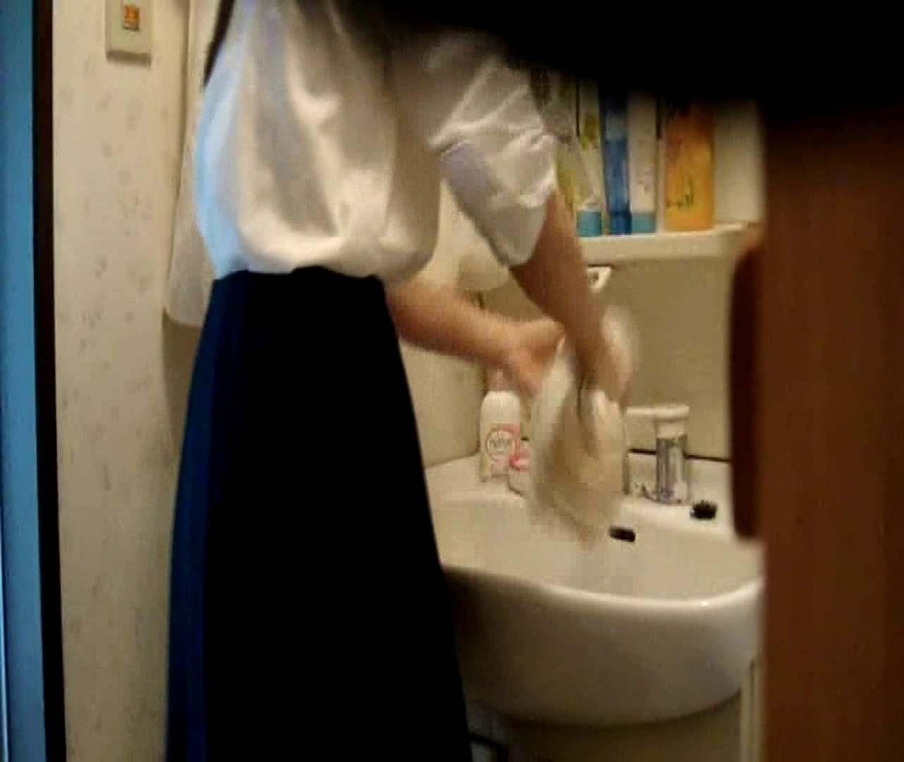vol.5 まどかが帰宅後の洗顔後にブラを洗ってます。 いじくり  75PIX 63