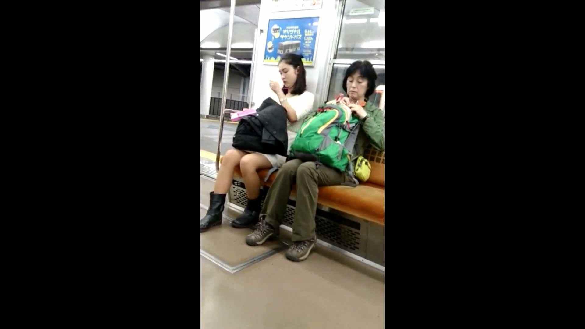 盗撮列車 vol.02 NINJAさんの粘着撮り ギャル  94PIX 93