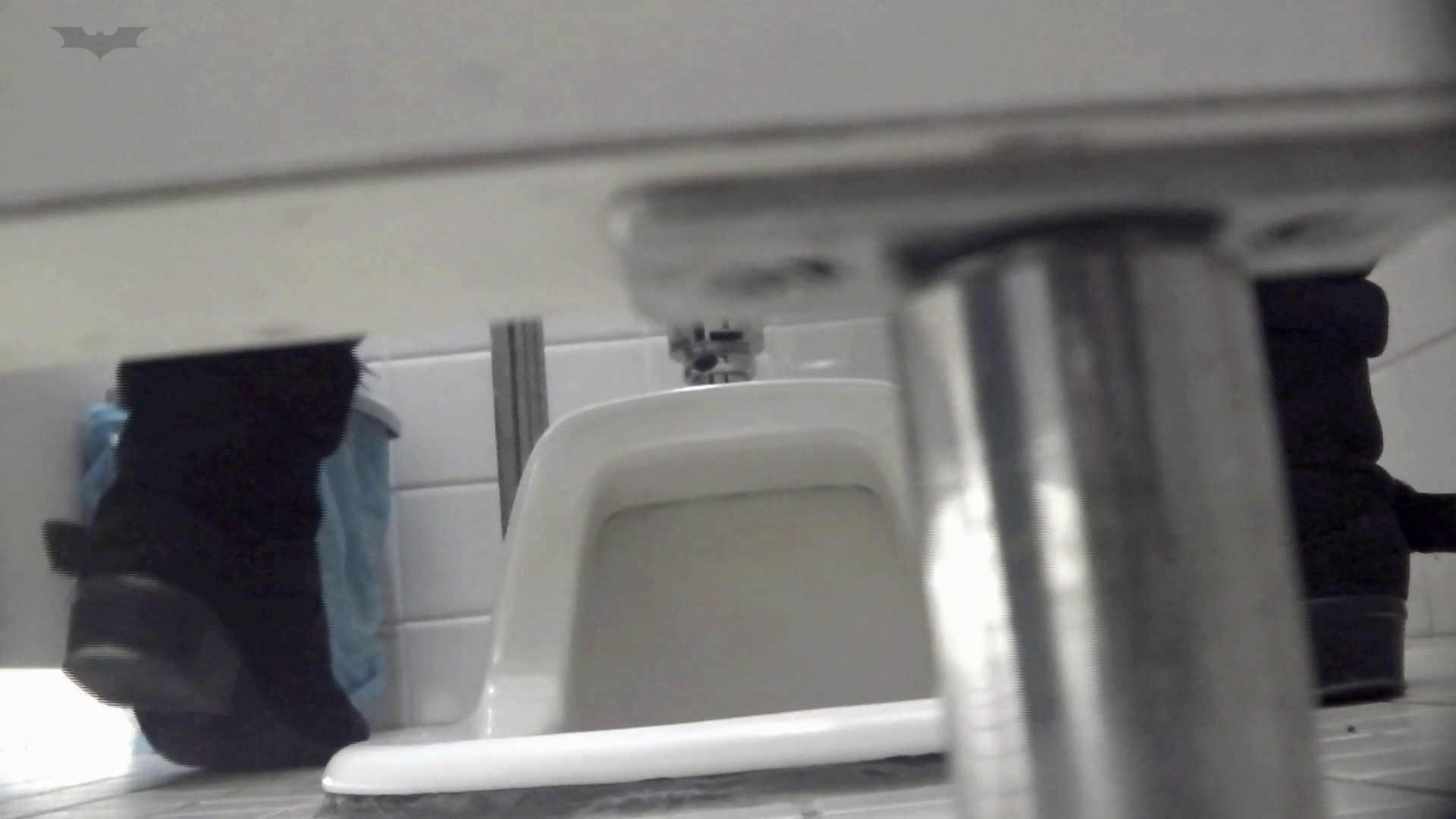 お銀さんの「洗面所突入レポート!!」Nol.6 丸見え  73PIX 45