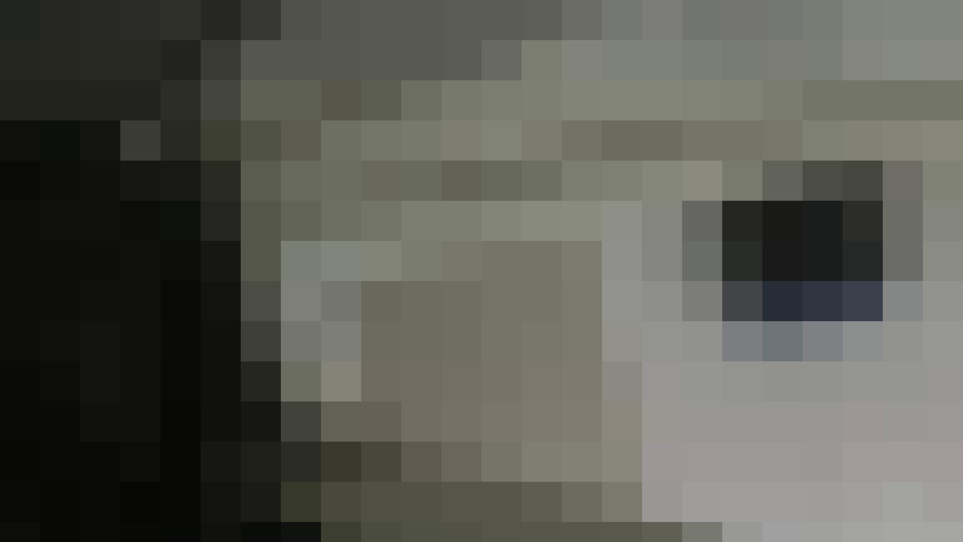 お銀さんの「洗面所突入レポート!!」 vol.30 粒ぞろい 丸見え  100PIX 48