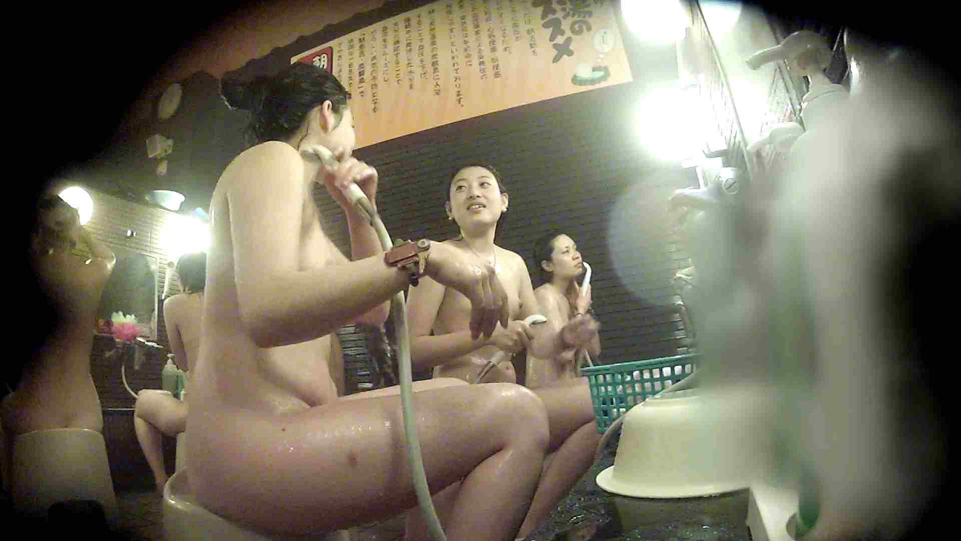 洗い場!お二人とも清楚でお美しいでございます。 美乳  67PIX 12