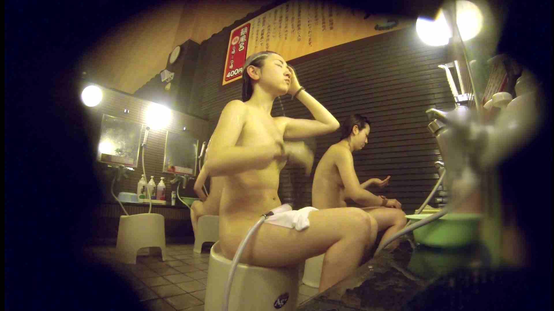 洗い場!しかし・・・綺麗な顔をしてますね。結婚したいな。 細身  73PIX 37