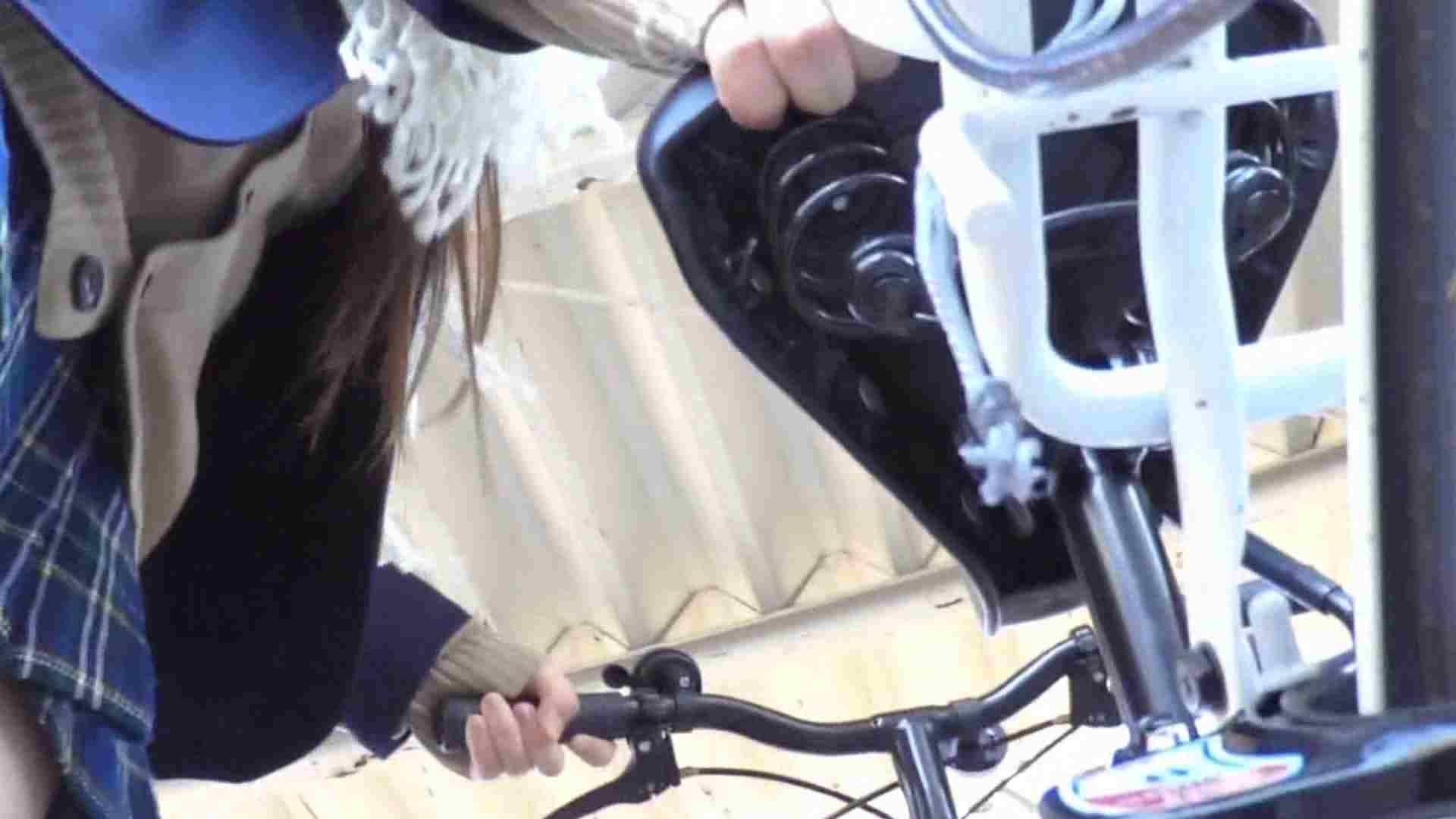 自転車パンチラ Vol.03 高画質  63PIX 18
