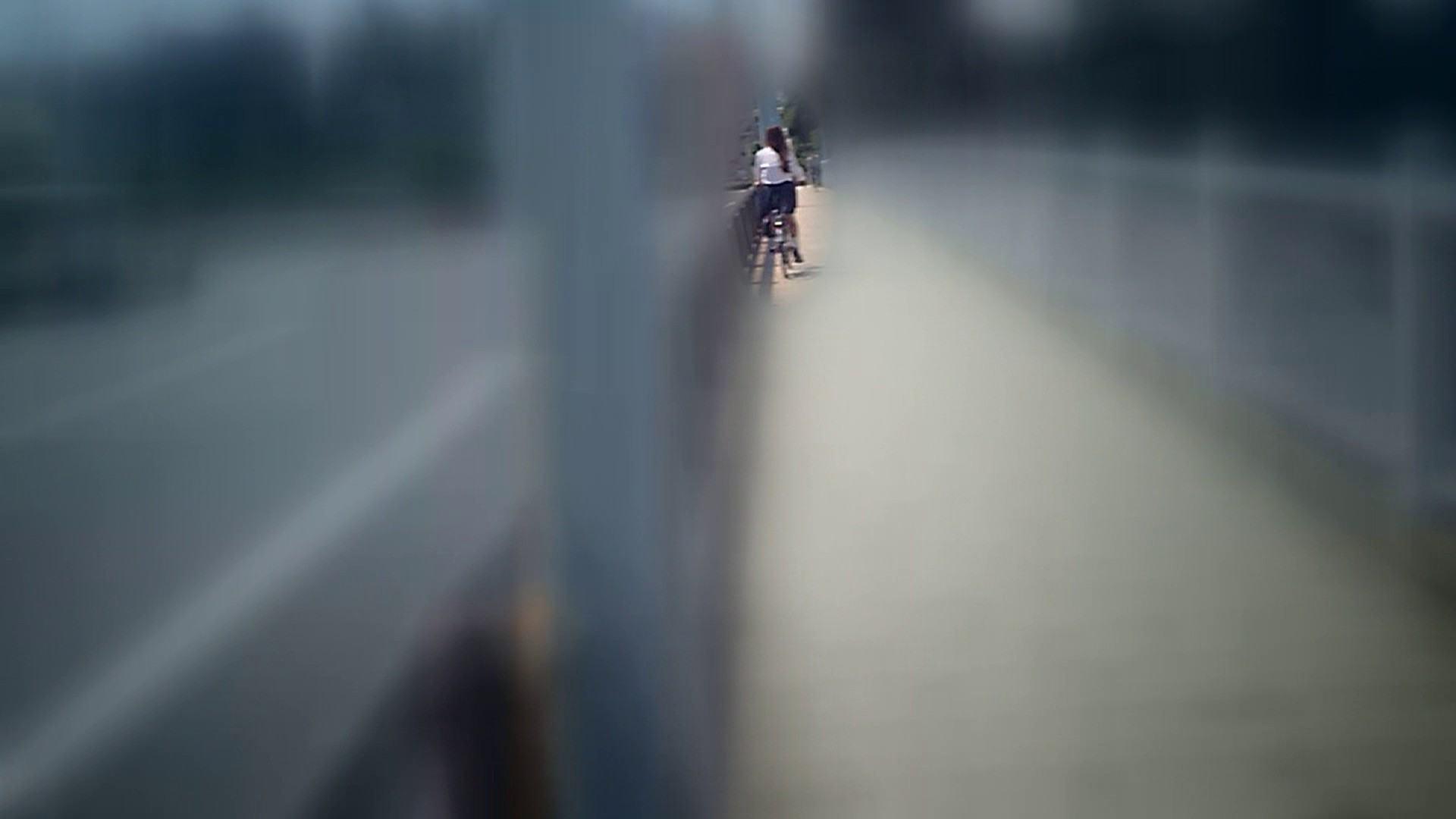 自転車パンチラ Vol.07 追跡  68PIX 25