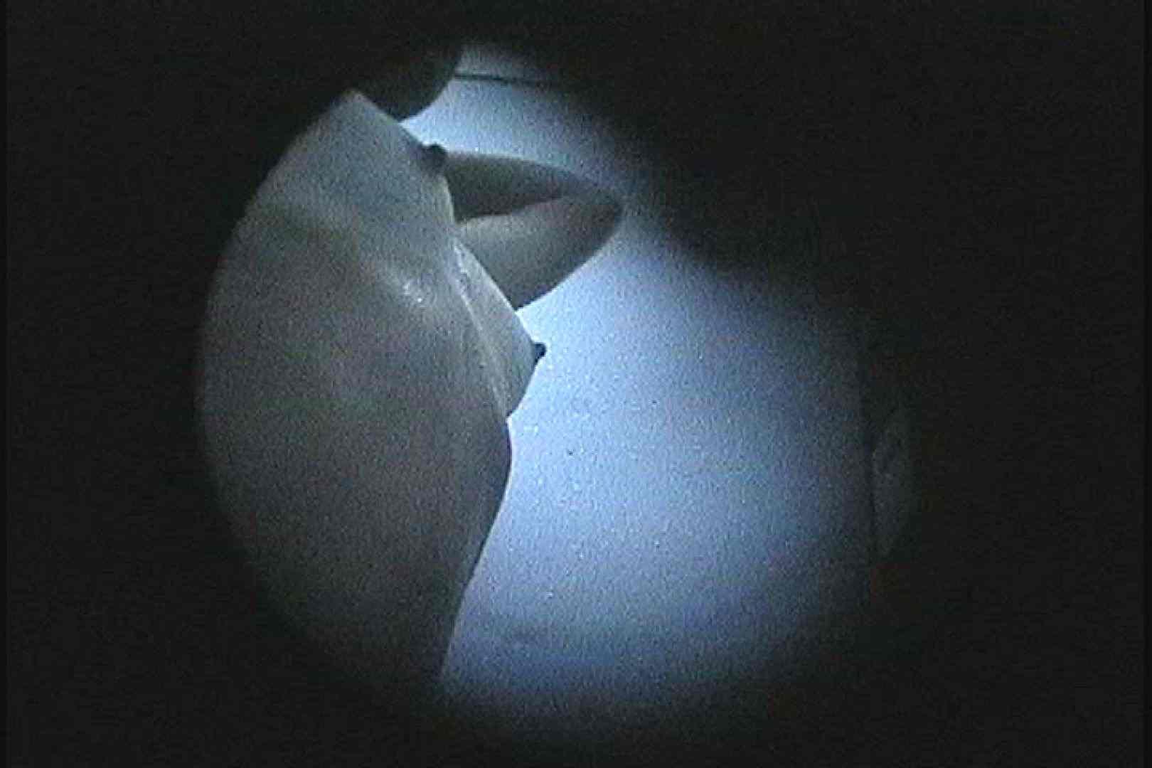No.122 くっきり日焼け跡細身のお女市さん 暗いのが残念です シャワー  78PIX 35