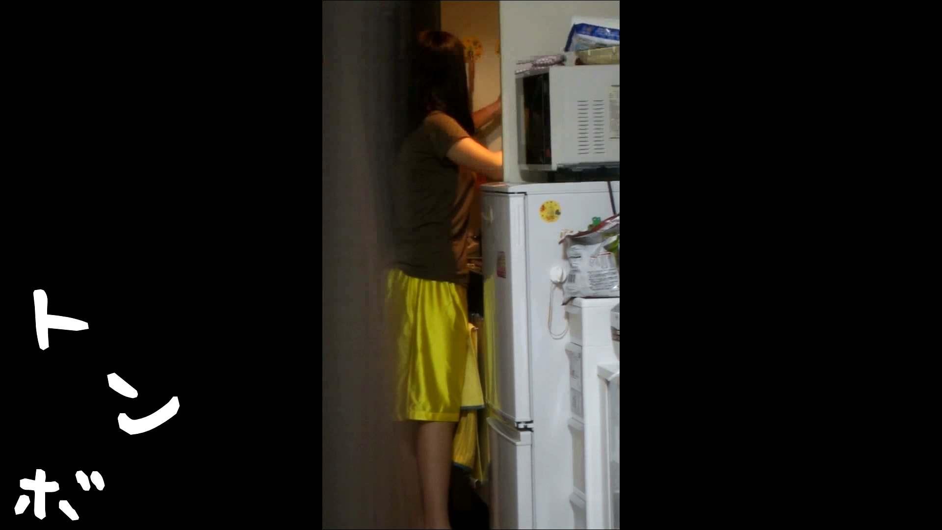 リアル盗撮 ピアスが可愛い一人暮らし女子大生の部屋ヌード 桃色乳首  94PIX 55