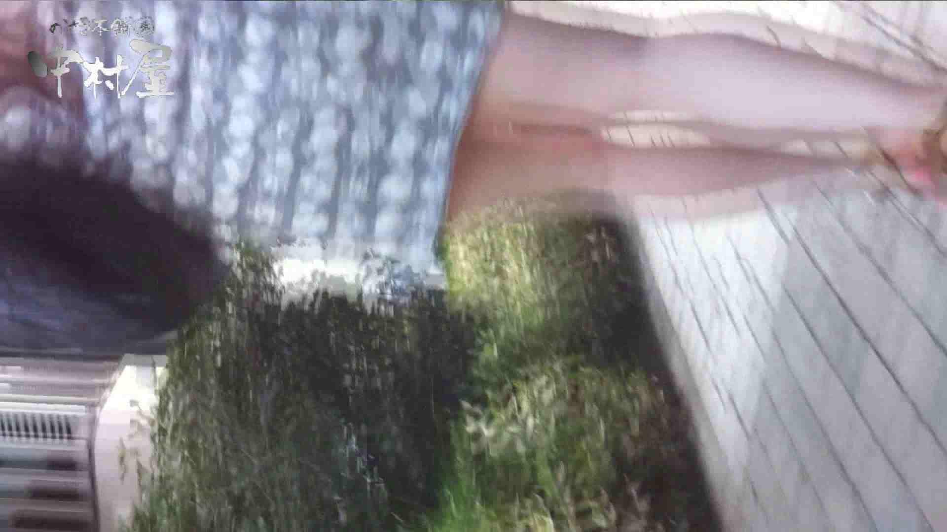 おまんこ丸見え|vol.65 美人アパレル胸チラ&パンチラ ムッチリ感がいい感じ花がらパンツさん|のぞき本舗 中村屋