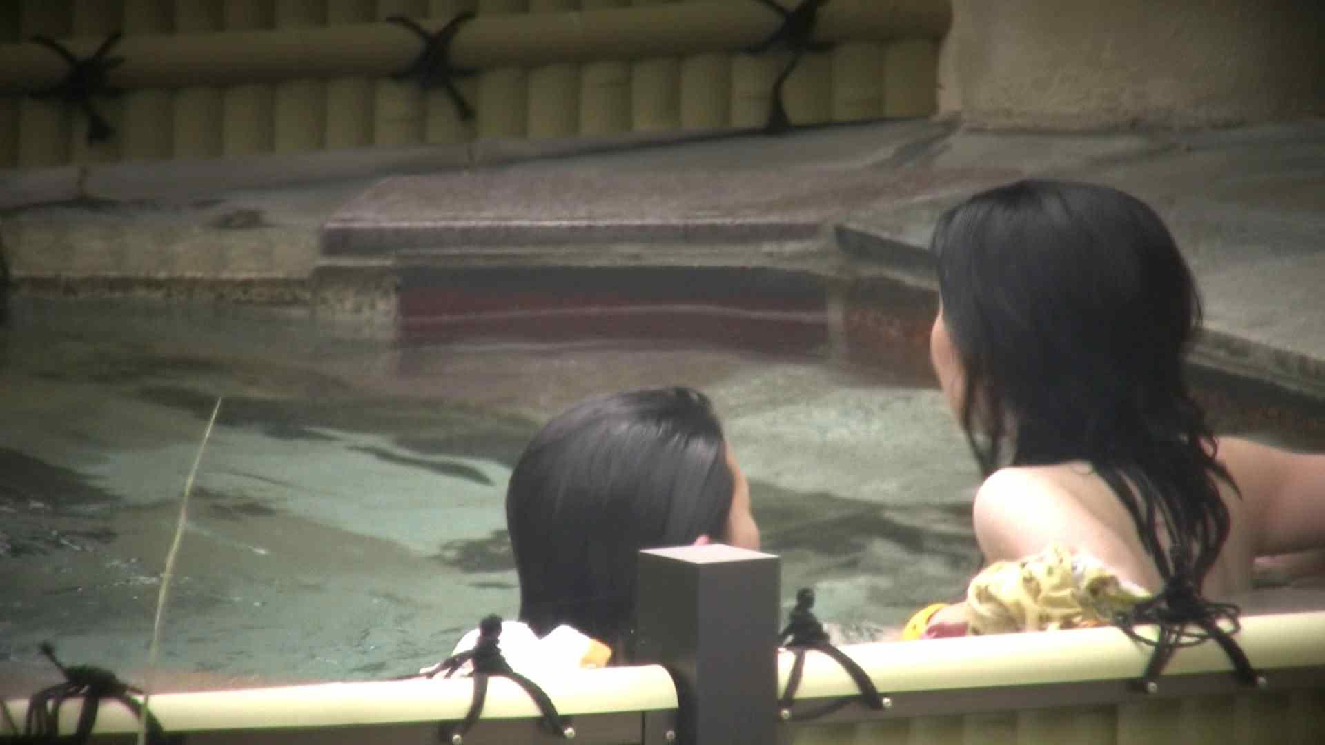 おまんこ丸見え|Aquaな露天風呂Vol.124|のぞき本舗 中村屋