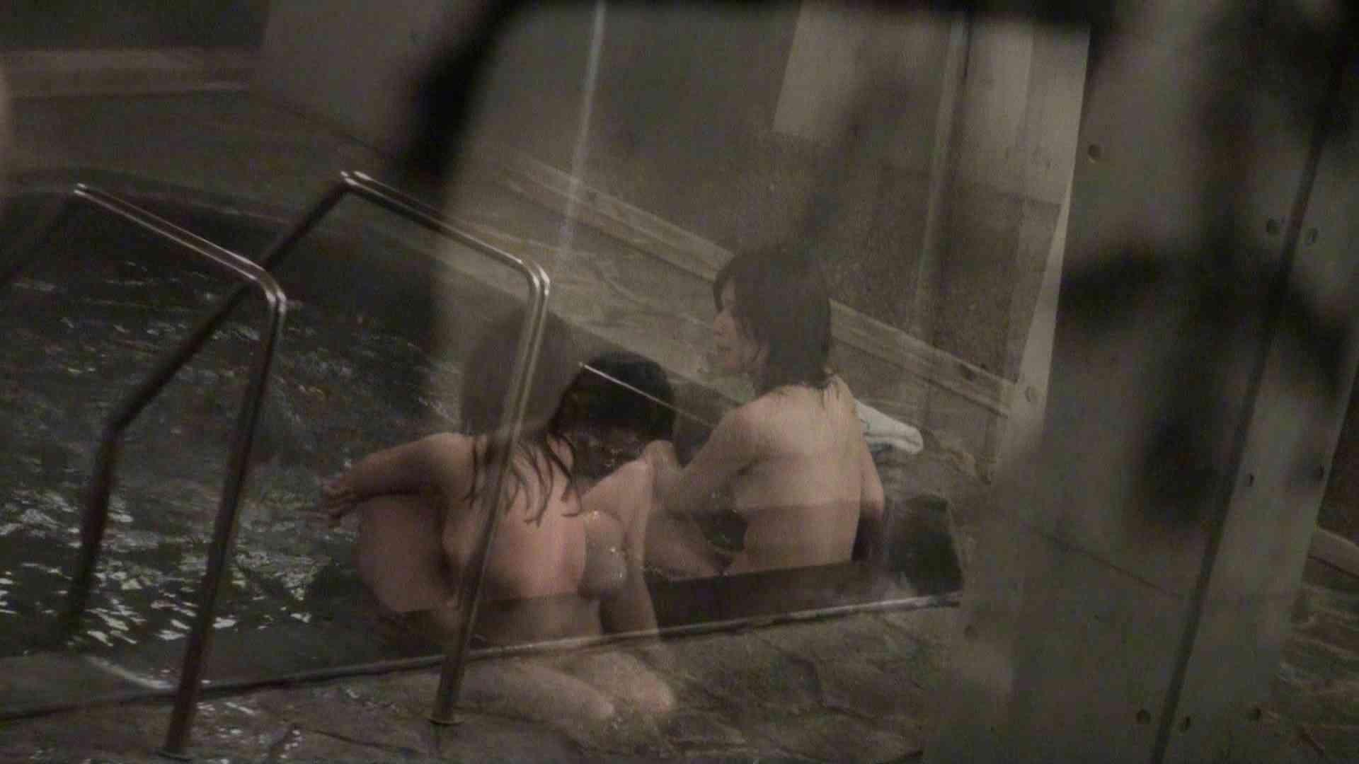 おまんこ丸見え|Aquaな露天風呂Vol.345|のぞき本舗 中村屋