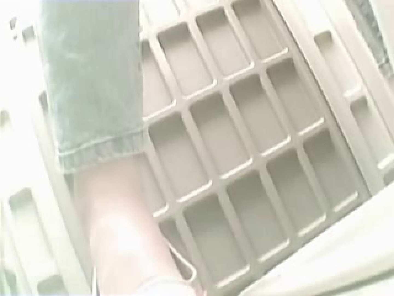 おまんこ丸見え|野外の洗面所は危険ですVol.2|ピープフォックス(盗撮狐)